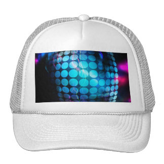Funky 3D Circles Background Trucker Hat