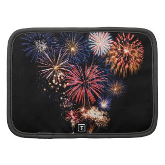 Funky 4th of July Fireworks Folio Planner
