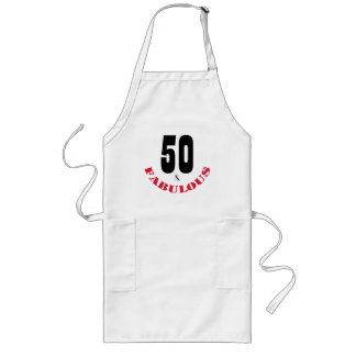 Funky 50 and Fabulous Birthday Party Apron