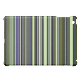 Funky 60s Earth Tone Stripes iPad Mini Covers