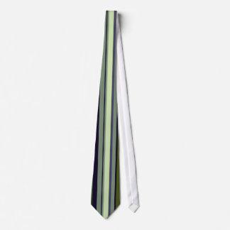 Funky 60s Earth Tone Stripes Tie