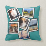 Funky 6 Instagram Photo Collage Pillows