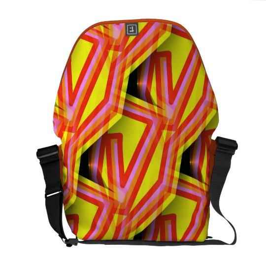 Funky Abstract Art Bag! #7 Messenger Bag