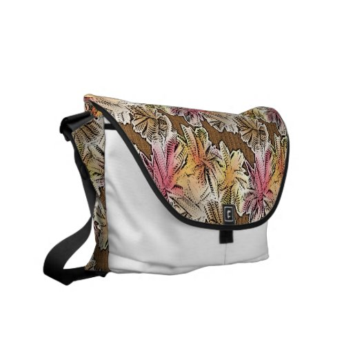Funky Abstract Art Bag! #9 Courier Bag