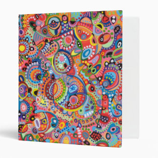 Funky Abstract Binder