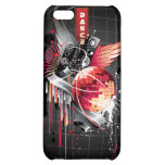 Funky Abstract Disco Ball Music Design Case For iPhone 5C