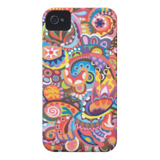 Funky Abstract iPhone 4/4S Case-Mate Barely There iPhone 4 Case-Mate Case