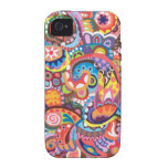 Funky Abstract iPhone 4/4S Case-Mate Vibe Case