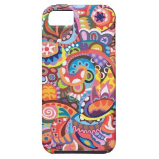 Funky Abstract iPhone 5 Case