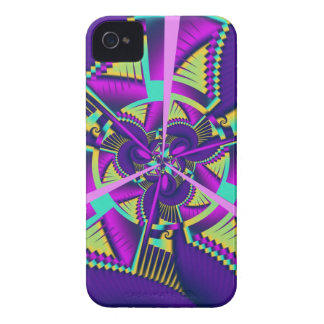 Funky abstract pattern Blackberry bold case