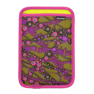 Funky Abstract Pattern Sleeve For iPad Mini