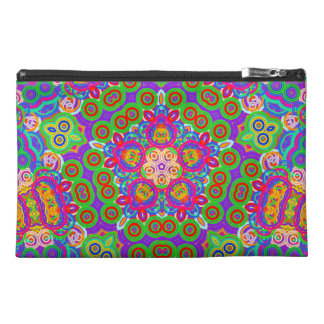 Funky Abstract Star Travel Accessory Bags