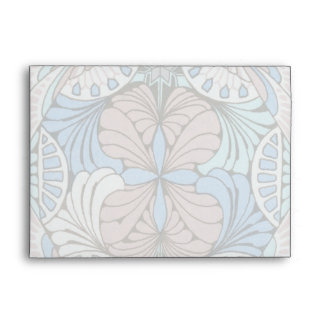 funky abstract swirl pattern envelope