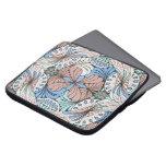 funky abstract swirl pattern laptop sleeve