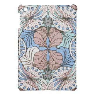 funky abstract swirl pern iPad mini cases