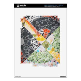 Funky Abstract Texture iPad 3 Skin