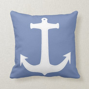 Professional Business Funky Anchor Captain Throw Pillow