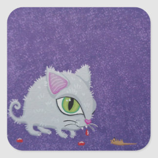 Funky and cute cat stickers from Soozie Wray