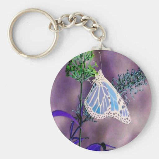 Funky and Wild Butterfly Key Chains