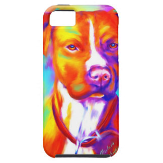 Funky Angel - Pitbull iPhone 5 Cases
