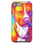Funky Angel - Pitbull iPhone 6 Case