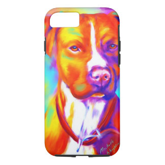 Funky Angel - Pitbull iPhone 7 Case