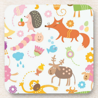 Funky Animals Drink Coaster