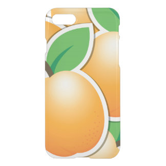 Funky apricot iPhone 8/7 case