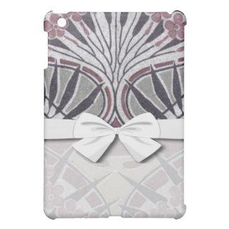 funky art nouveau dark floral design cover for the iPad mini