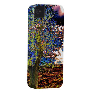 Funky Art Tree Design iPhone 4/4S Case-Mate Case