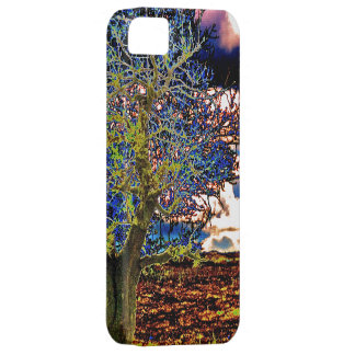 Funky Art Tree Design iPhone 5 Case-Mate Case