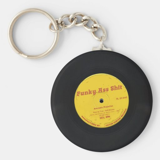 Funky Ass Shit Basic Round Button Keychain