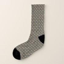 Funky Asterisk Patterned Socks