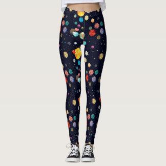 Funky Astroids Leggings
