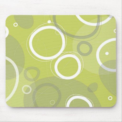 Funky Atomic Style Mousepad