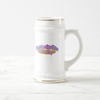 funky bachelorette wedding bridal shower party coffee mugs