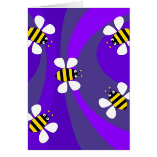 Funky Bees Card