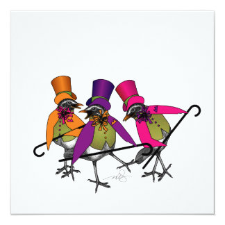 Funky Bird Boogie Custom Announcement