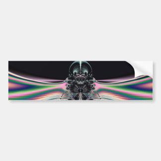 Funky Bird Bumper Sticker