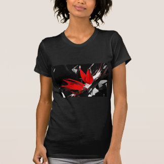 Funky Bird of Paradise Picture Tee Shirts