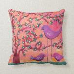Funky Birds Pillows