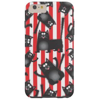Funky Black Cats iPhone cover case Tough iPhone 6 Plus Case