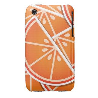 Funky blood orange wedges Case-Mate iPhone 3 case