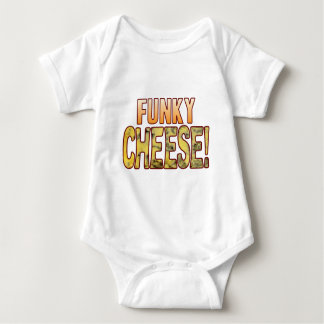 Funky Blue Cheese Baby Bodysuit