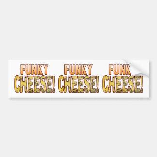 Funky Blue Cheese Bumper Sticker