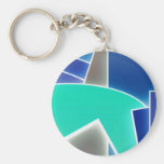 Funky Blue Key Chains