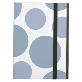 Funky Blue Polka Dot Pattern Cover For iPad Air