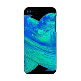 Funky Blue Top Metallic iPhone SE/5/5s Case