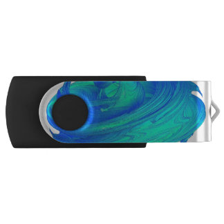 Funky Blue Top USB Flash Drive
