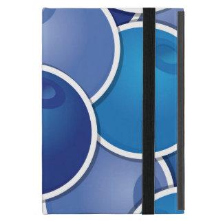 Funky blueberry iPad mini case